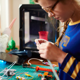Building K12 STEM Programs Around 3D Printers