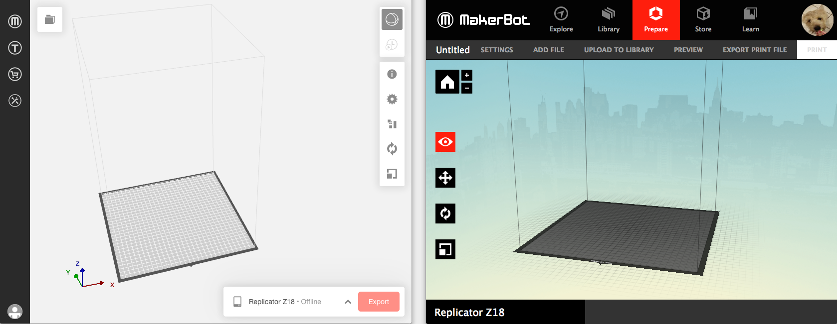 I Can't Update The Firmware | MakerBot Replicator Z18